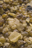 Frankincense, Olibano (Boswellia Papyrifera) Incense from Etiopia. stock photo