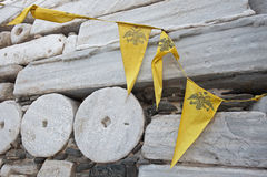 Frankishkasteel bij Parikia-stad bij Paros-eiland in Griekenland Stock Fotografie