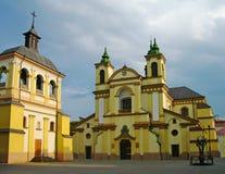 frankivsk katedralny katolicki ivano rzymski Ukraine Zdjęcia Royalty Free