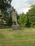 Frankl B.Hymnz statue  downton park Belgrade Serbia Stock Photography