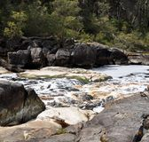 Frankland River: Circular Pools River Channel Royalty Free Stock Photos