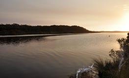 Frankland River at Dusk: Western Australia Stock Image