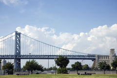 franklin γεφυρών Benjamin Στοκ εικόνα με δικαίωμα ελεύθερης χρήσης