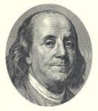 Franklin 100 dólares stock de ilustración
