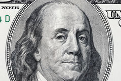 Franklin Benjamin portrait Stock Images