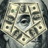 Franklin Benjamin portrait cutout Stock Photo