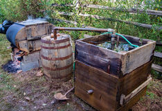 Franklin County Moonshine Still arkivfoton