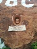 Franklin D Escultura de Roosevelt en el ` del agujero N el hogar de la montaña de la roca imagen de archivo libre de regalías