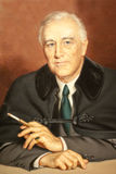 Franklin D. Roosevelt Photographie stock