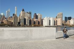 Franklin D. Roosevelt Four Freedoms Park royalty free stock photos
