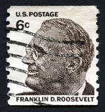 Franklin D Roosevelt US Postage Stamp Stock Images