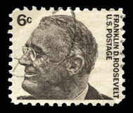 Franklin D Roosevelt US Postage Stamp Royalty Free Stock Photography