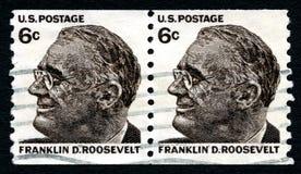 Franklin D Roosevelt USA Postage Stamp Stock Image