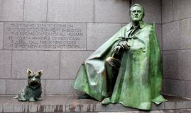 Franklin Delano Roosevelt Memorial royalty free stock image