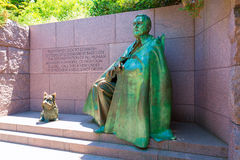 Franklin Delano Roosevelt Memorial Washington Imagem de Stock Royalty Free