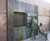 Franklin Delano Roosevelt Memorial. In Washington DC Stock Images