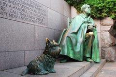 Franklin Roosevelt Memorial, Washington Royalty Free Stock Photo