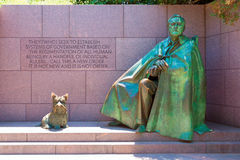 Franklin Delano Roosevelt Memorial Washington Stock Image