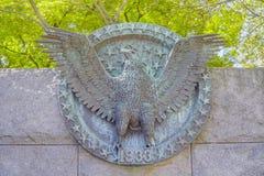 Franklin Delano Roosevelt Memorial in Washington - WASHINGTON DC - COLUMBIA - APRIL 7, 2017. Franklin Delano Roosevelt Memorial in Washington - WASHINGTON DC Royalty Free Stock Image