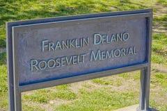 Franklin Delano Roosevelt Memorial in Washington - WASHINGTON DC - COLUMBIA - APRIL 7, 2017. Franklin Delano Roosevelt Memorial in Washington - WASHINGTON DC Stock Photography