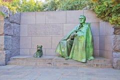 Franklin Delano Roosevelt. Outdoor view of Franklin Delano Roosevelt Memorial in Washington DC Stock Photos