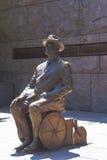 Franklin Delano Roosevelt statua Fotografia Royalty Free