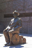 Franklin Delano Roosevelt statue Royalty Free Stock Photography