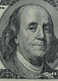 Franklin on 100 dollars Stock Photography