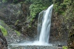 Franklin Falls in Washington. Royalty Free Stock Photos