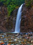 Franklin Falls, Washington State imagem de stock