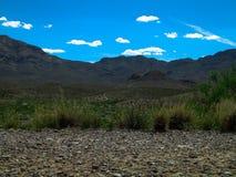 Franklin Mountains El Paso Texas immagine stock libera da diritti