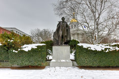 Franklin Pierce Monument foto de stock