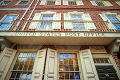 Franklin Post Office Royalty Free Stock Photo