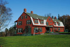 Franklin Roosevelt Sommer-Haus, Notiz: Kanada Stockbild