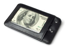 Franklin's wallet Royalty Free Stock Photos