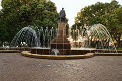 Franklin Square, Hobart royalty free stock images
