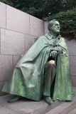 franklin statua Roosevelt Zdjęcie Royalty Free