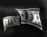 Franklin and Washington Stock Photo