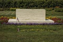 Franklin y Eleanor Roosevelt Gravesite Fotos de archivo libres de regalías