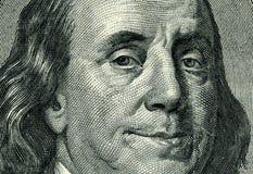 Franklins Lächeln Stockfotografie