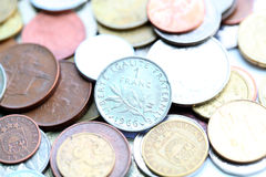 1 frankmuntstuk Stock Foto