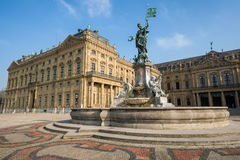 Frankonia Fountain at the Wurzburg Residence, Germany Royalty Free Stock Image