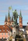 Frankoniabrunnen Royalty Free Stock Photo