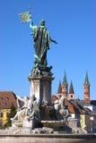 Frankoniabrunnen Stockfoto