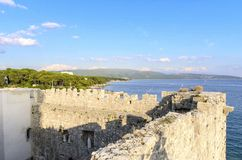 Frankopan Castle, Krk, Κροατία Στοκ Εικόνα