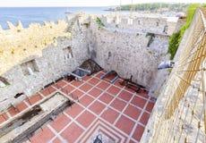 Frankopan Castle, Krk, Croatia Royalty Free Stock Image