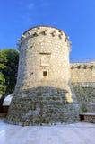 Frankopan Castle tower, Krk, Croatia Stock Photo
