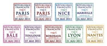 Frankreich lizenzfreie abbildung