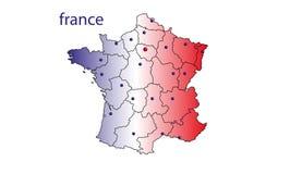 Frankreich Stock Abbildung