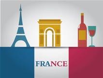 Frankreich Stockbild